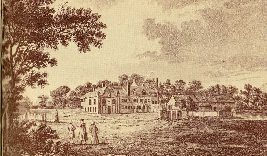 Bishop's Palace, Bromley in 17th century