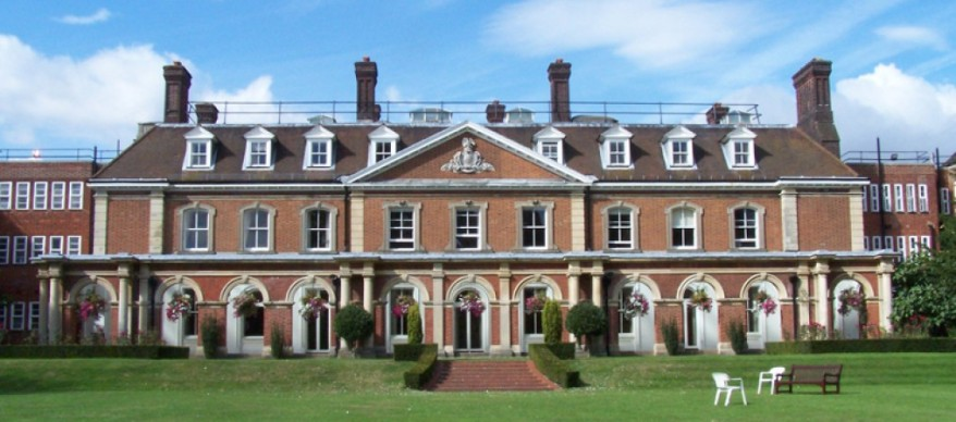 Southern elevation of Bromley Palace