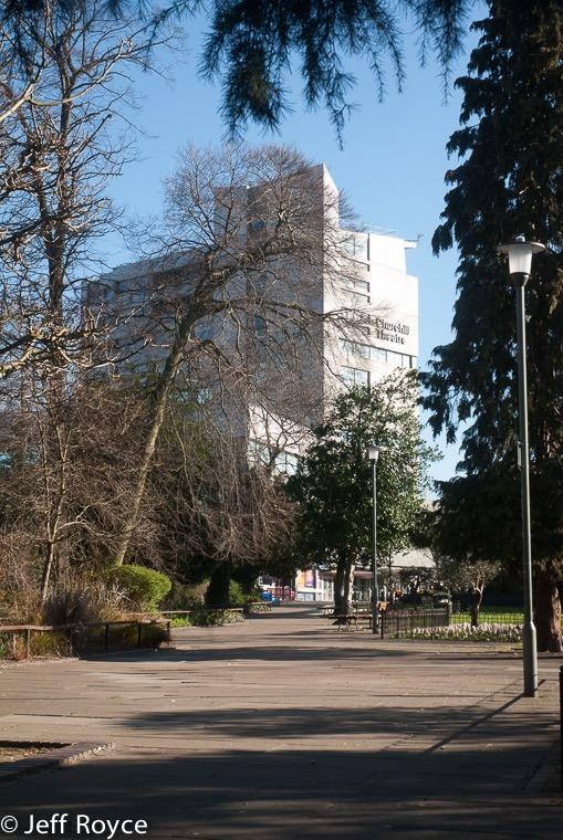 Library Gardens & Churchill Theatre