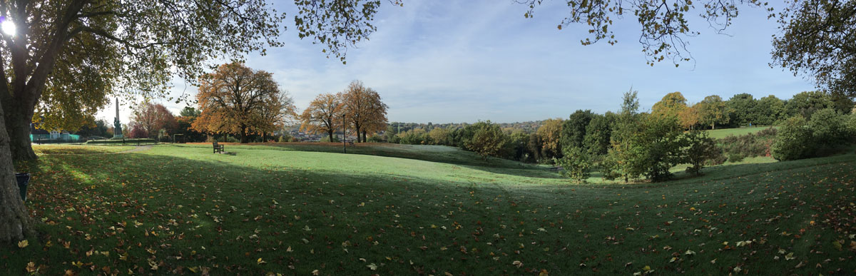 Photograph of Martins Hill in autumn