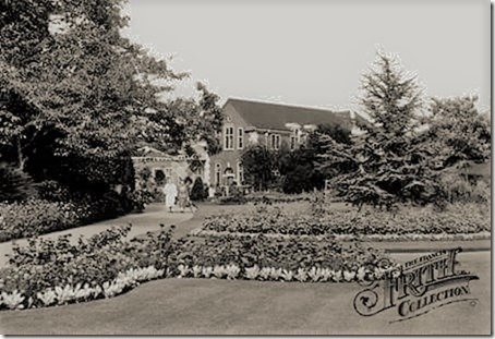 Library Gardens circa 1915, Frith Collection