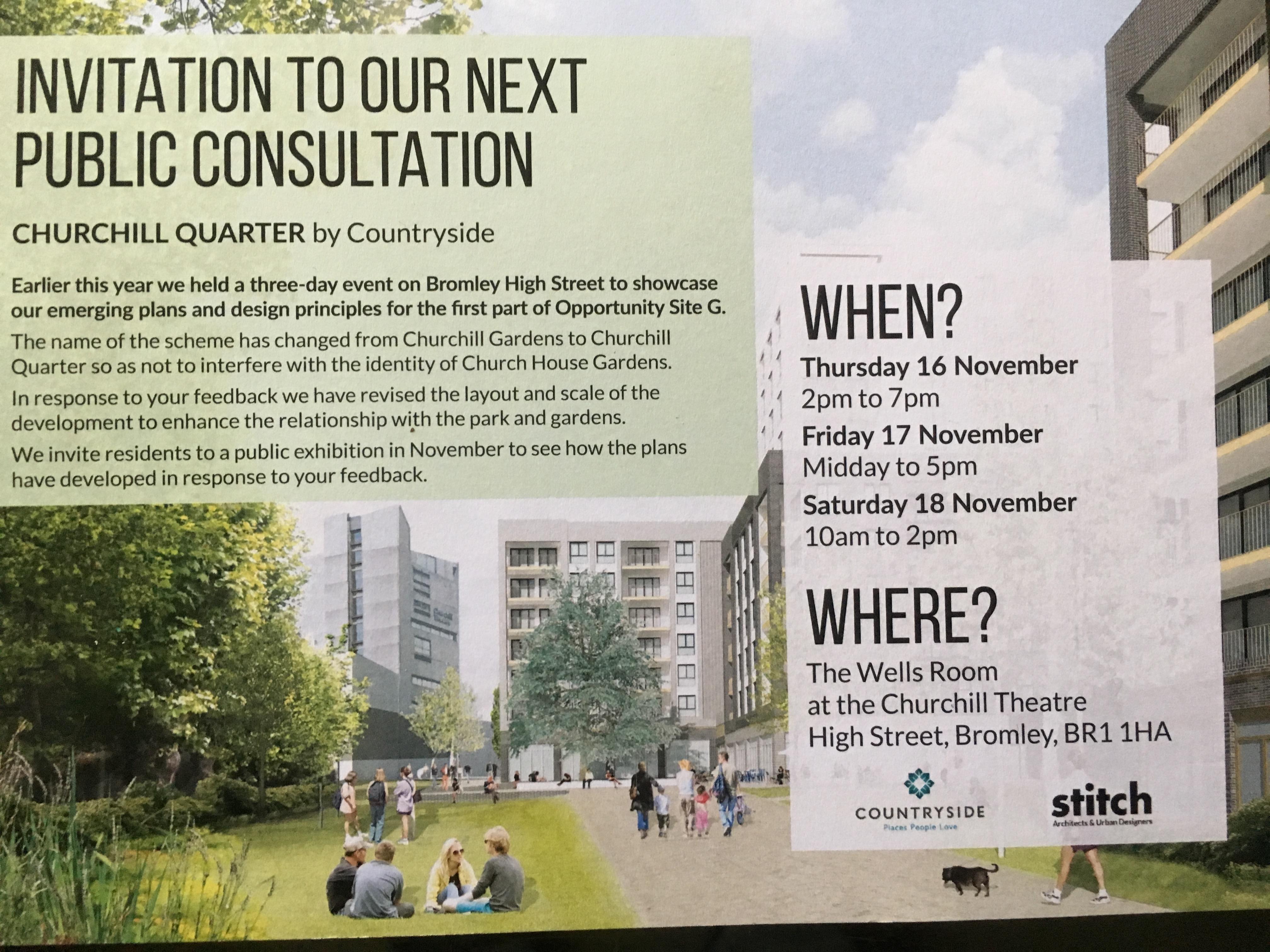 Consultation notice